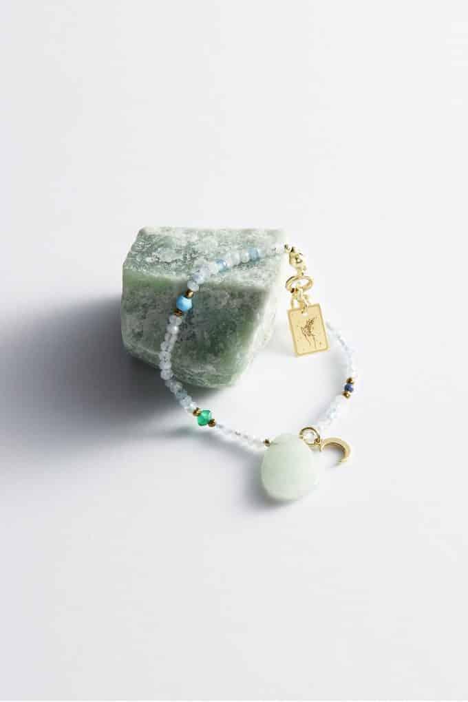 Amulet powietrza z awenturynem